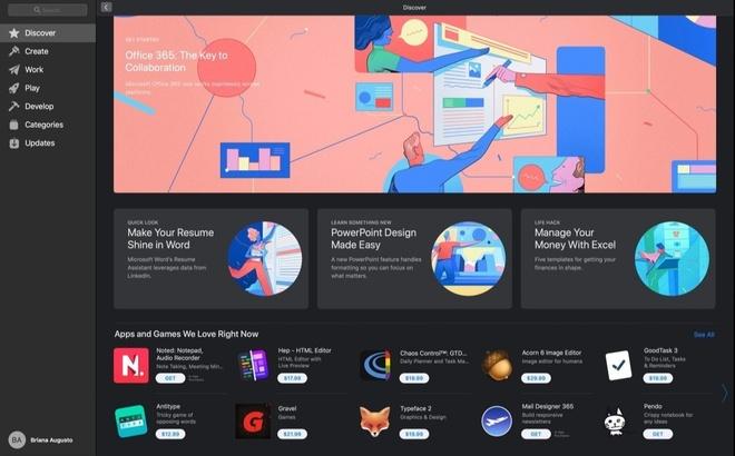 Microsoft Office 365 cho macbook anh 1