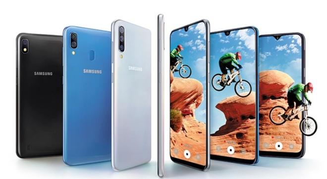 Samsung bat ngo ra Galaxy A30 va A50: Man giot nuoc, van tay duoi kinh hinh anh 2