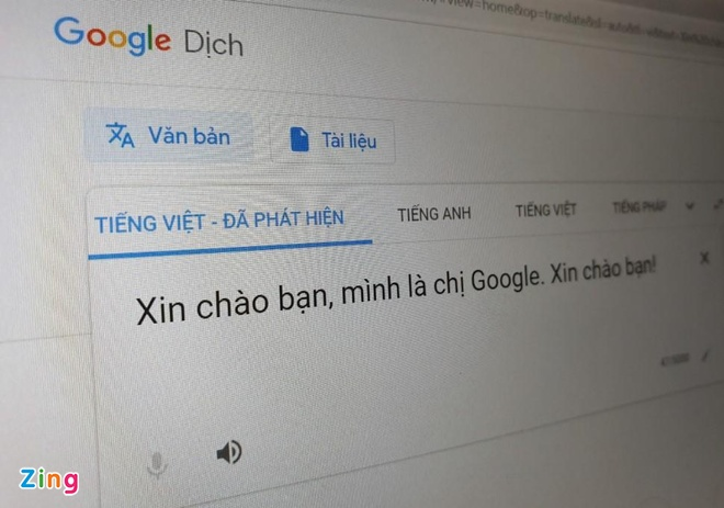 Nghe thu giong 'Chi Google' phien ban moi hinh anh 1
