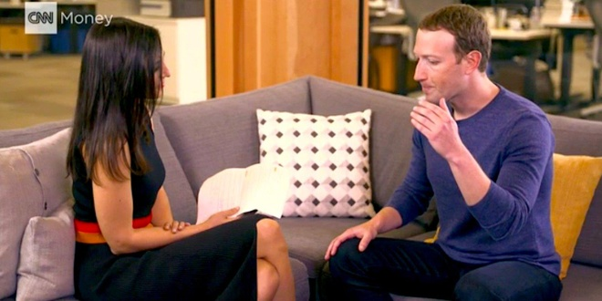 Phong van Zuckerberg, e-kip CNN bi theo doi ca khi vao nha tam hinh anh 1