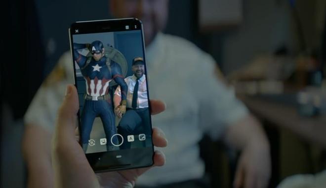 Google gioi thieu Pixel 3 theo phong cach Avengers Endgame hinh anh