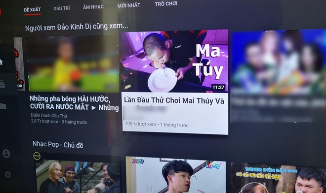 choi ma tuy tren YouTube anh 1