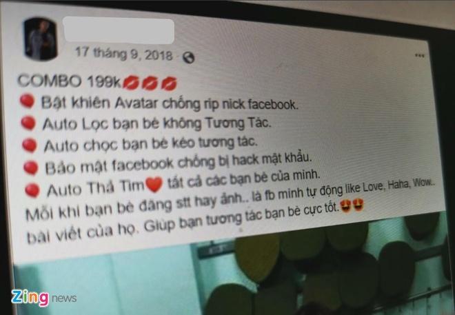 Su that ve dich vu bat khien bao ve Facebook tai Viet Nam hinh anh 2
