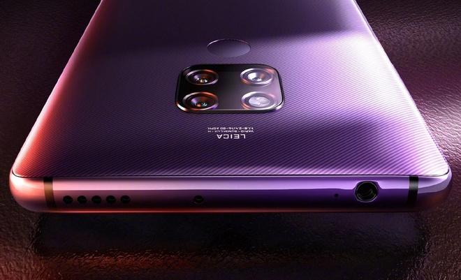 Lo thiet ke va cau hinh Huawei Mate 30 voi man hinh 2K, mang 5G hinh anh 1