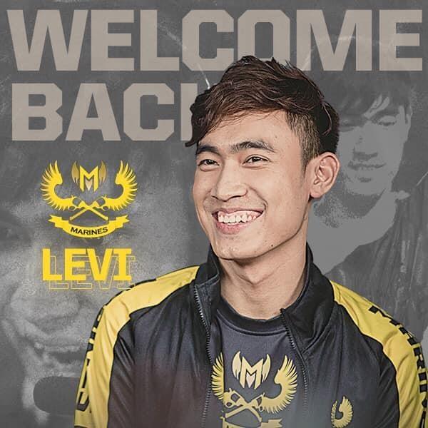 Levi chinh thuc tro lai VCS trong mau ao GAM hinh anh 1