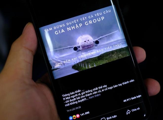 'Con bao report' dang de doa danh sap hang nghin group Facebook hinh anh 1