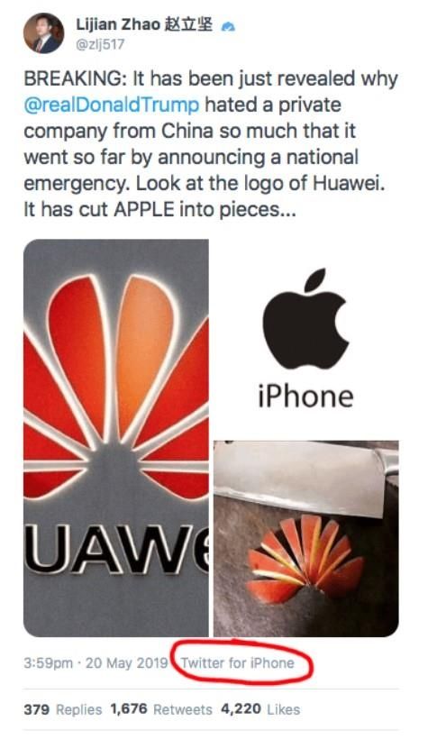 ung ho huawei bang iphone anh 1