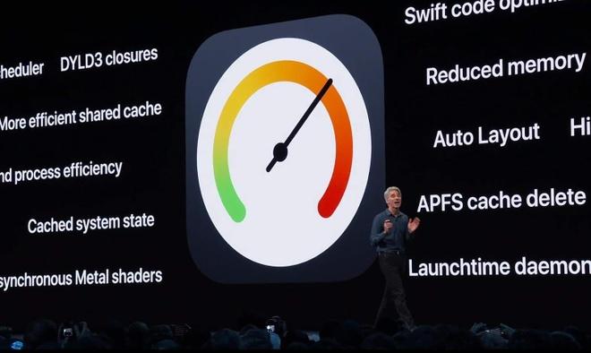 Apple cho biết iOS 13 sẽ tập trung nhiều hơn vào việc cải thiện hiệu năng thiết bị.