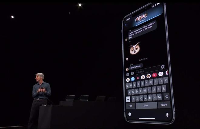 Vuốt bàn phím để nhập văn bản xuất hiện trên iOS 13.