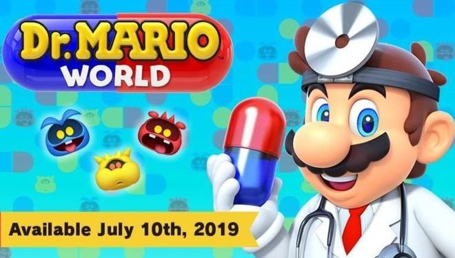 Nintendo an dinh ngay ra mat game dien thoai Dr. Mario World hinh anh 1