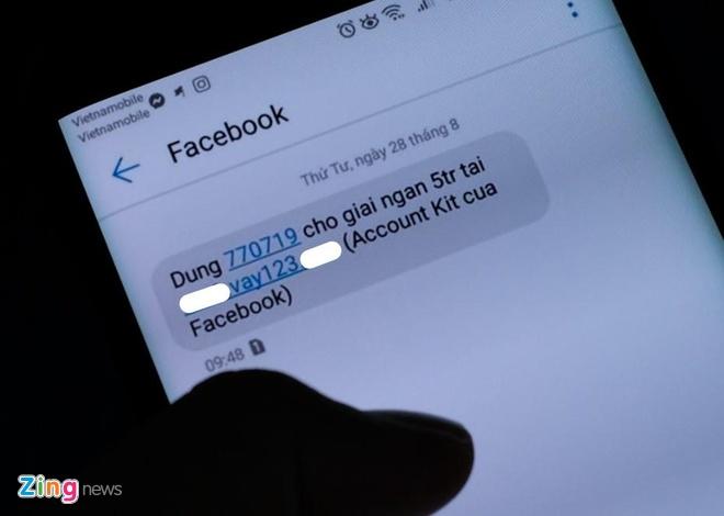 Nguoi dung VN bi nhan nhieu tin nhan la tu Facebook hinh anh 1