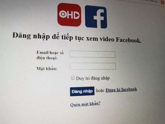Xem phim lau online, nguoi dung Viet mat tai khoan Facebook hinh anh 2