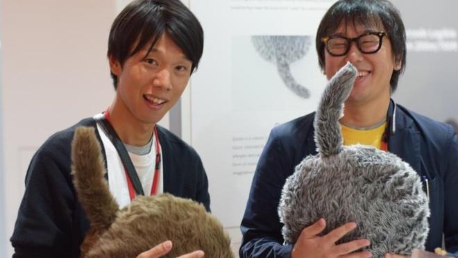 Startup robot mèo từ Nhật Bản tham dự sự kiện công nghệ IFA 2019. Ảnh: The Next Web.