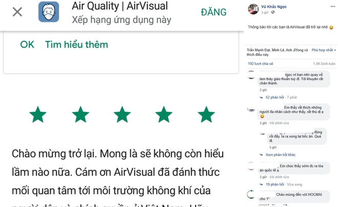 airvisual tro lai anh 1