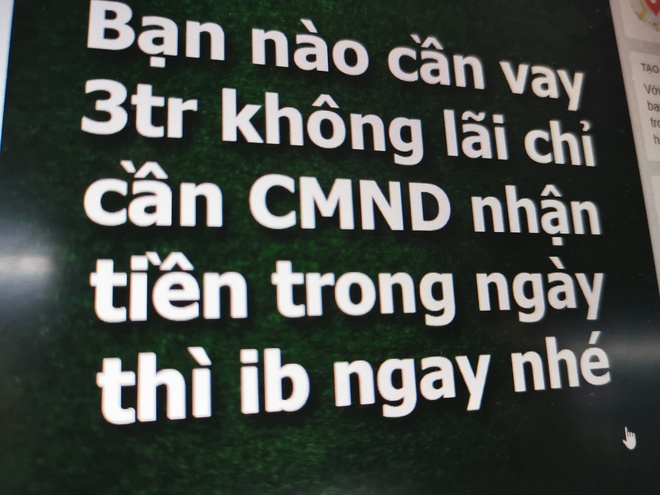 Xuat hien tro lua ep nguoi dung vay online rui ro cao hinh anh 1