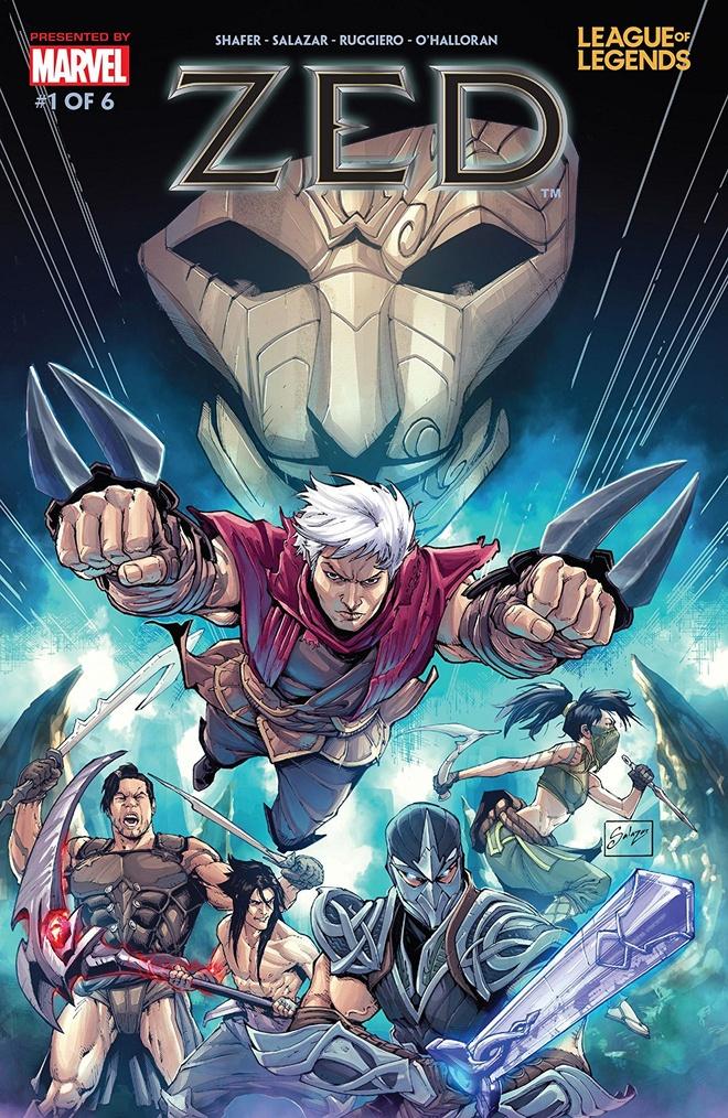 Riot bat tay voi Marvel san xuat truyen tranh ve tuong Zed hinh anh 1
