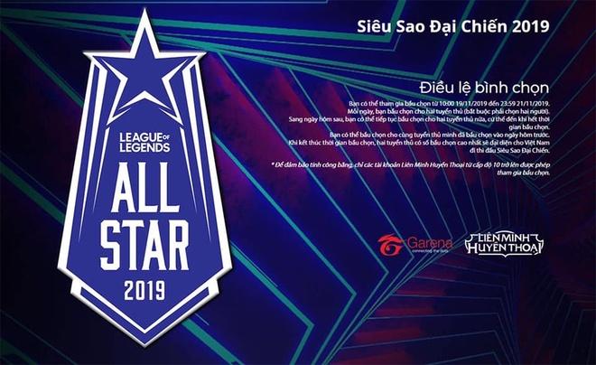 Khu vuc VCS mo cong binh chon All-Star 2019 hinh anh 1
