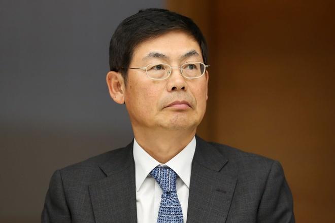 Lee Sang-hoon, Chủ tịch hội đồng quản trị Samsung Electronics từ chức sau khi chịu án tù 18 tháng. Ảnh: Financial Times.