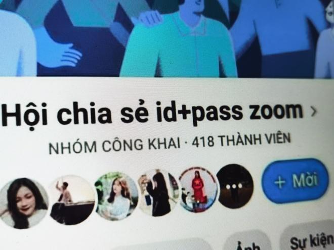 Hoc sinh lap group, ru nhau vao Zoom pha lop online o Viet Nam hinh anh 3 f7115e0144aebff0e6bf.jpg