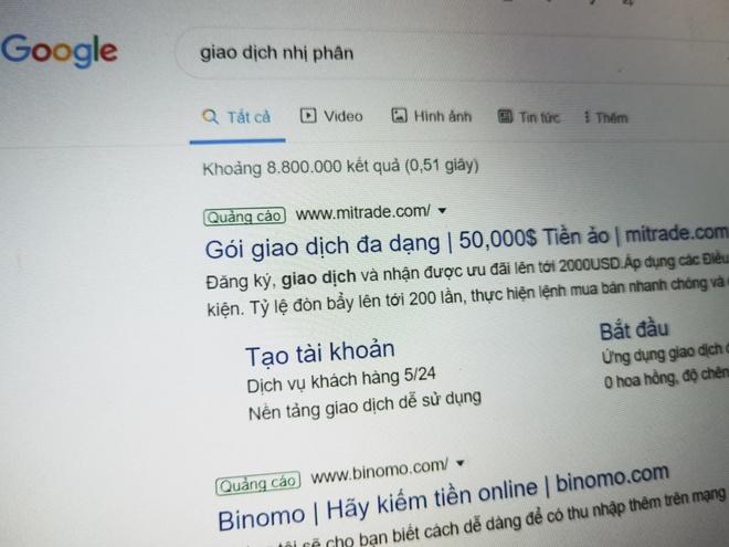 Google van quang ba cho app ca cuoc Binomo hoat dong o Viet Nam hinh anh 3 8372927d8fcc74922ddd.jpg