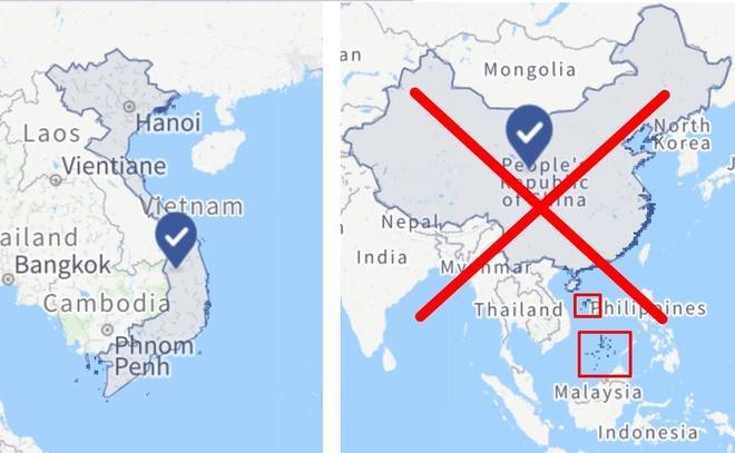 Facebook lai do loi ky thuat khi xoa Hoang Sa, Truong Sa cua Viet Nam hinh anh 1 facebook.jpg