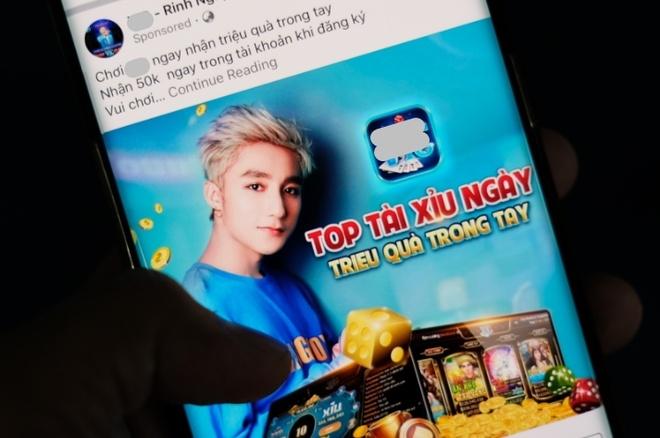 Son Tung, Tran Thanh co mat trong quang cao co bac tren Facebook hinh anh