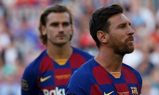 Noi bo Barca chia re vi Messi va Griezmann hinh anh 1