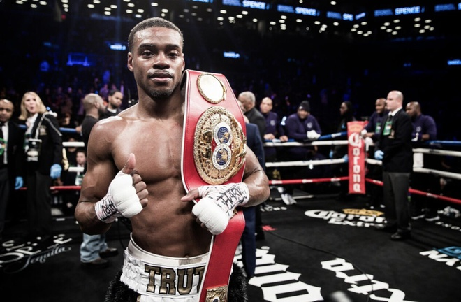 Errol Spence muon duoc so gang voi Manny Pacquiao hinh anh 1