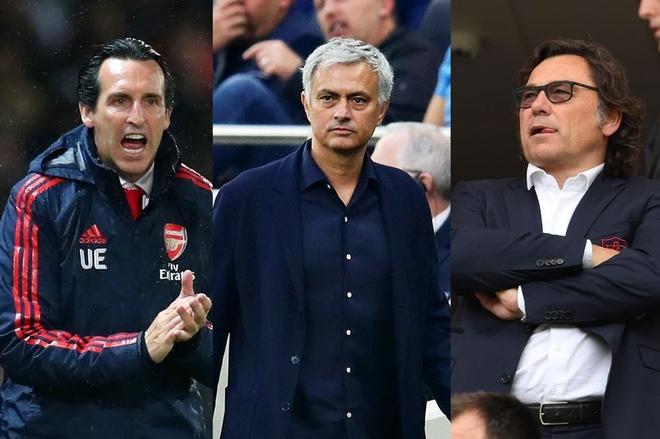Arsenal phu nhan tin Mourinho gap ban lanh dao doi bong hinh anh 1