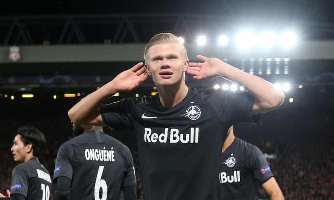 Erling Haaland ghi hat-trick thu 5 trong mua giai hinh anh 1
