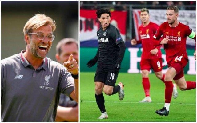 Liverpool dat thoa thuan voi Takumi Minamino hinh anh 1 Klopp-Henderson-Minamino-640x400.jpg