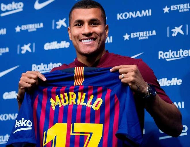 Jeison Murillo (năm 2019, cho mượn): Cầu thủ người Colombia được xem như phương án dự phòng cho hàng thủ Barcelona. Anh ra sân 4 lần cho