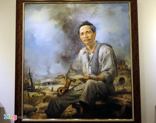 Trien lam hinh tuong cac danh tuong Viet Nam hinh anh 13