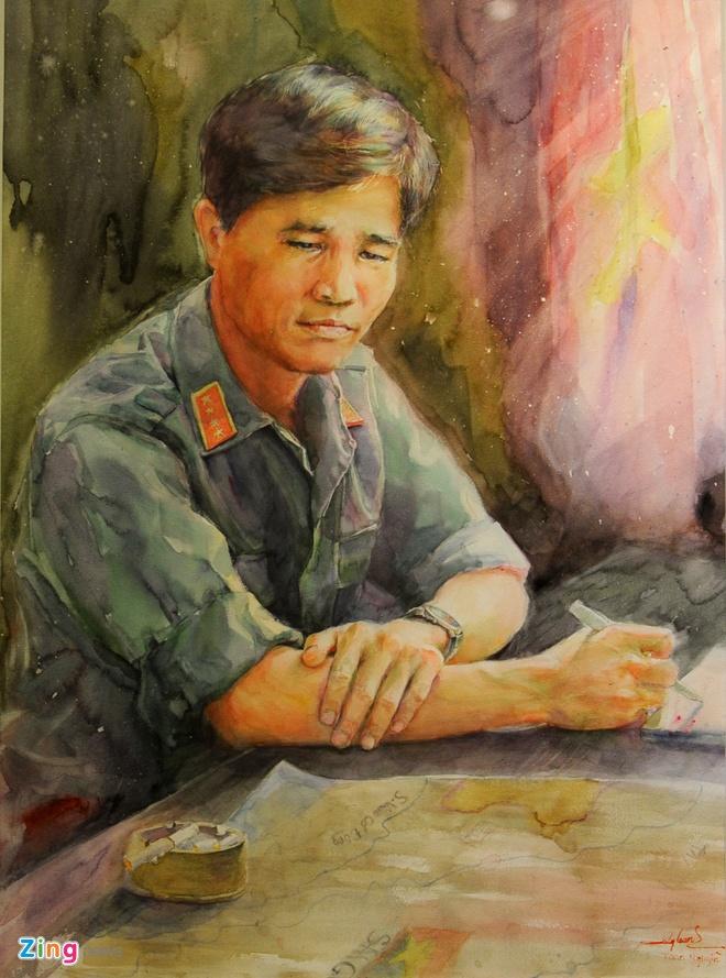 Trien lam hinh tuong cac danh tuong Viet Nam hinh anh 12