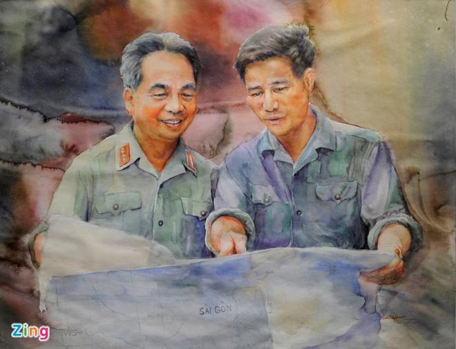 Trien lam hinh tuong cac danh tuong Viet Nam hinh anh 14