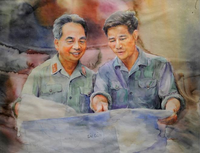 Trien lam hinh tuong cac danh tuong Viet Nam hinh anh