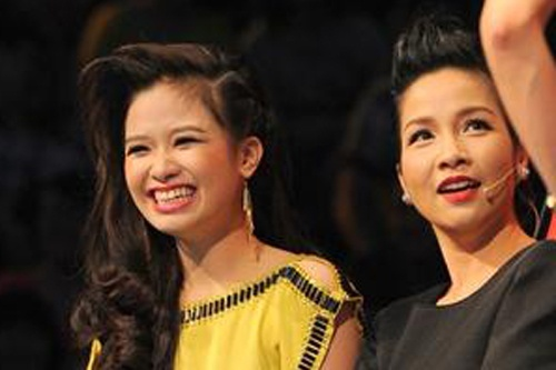 My Linh tra loi nghi an Duong Hoang Yen bo thi The Voice hinh anh