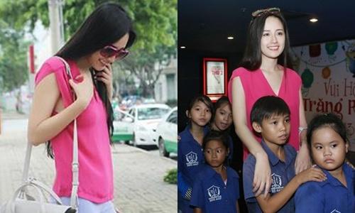 Mai Phuong Thuy bi cuop tui xach tren duong hinh anh