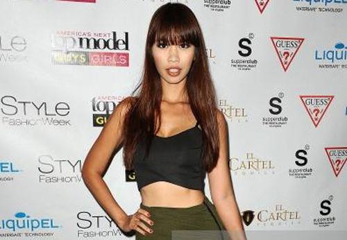 Lo clip Ha Anh van nhan minh la giam khao Next Top Model hinh anh