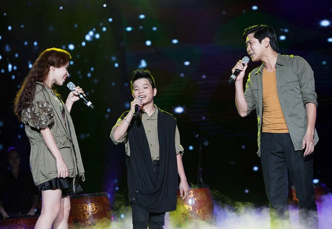 'Quang Anh The Voice Kids rat thich khoe chieu cao' hinh anh 1