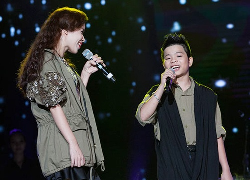 'Quang Anh The Voice Kids rat thich khoe chieu cao' hinh anh