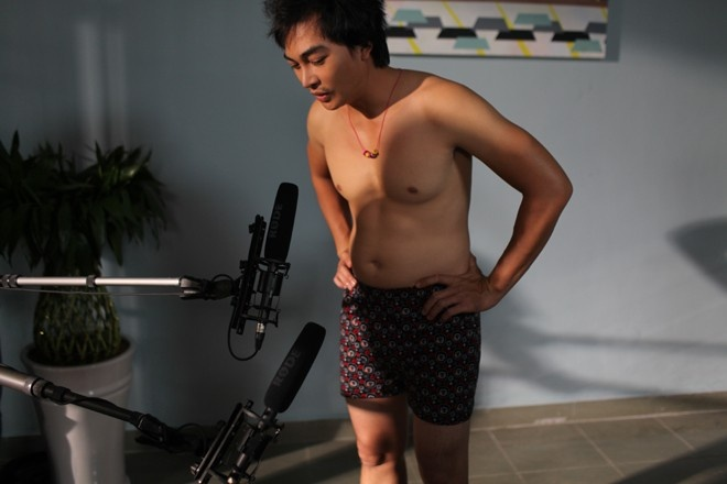 Khuong Ngoc mat nua nam cho nhac phim 'Tien chua' hinh anh 1