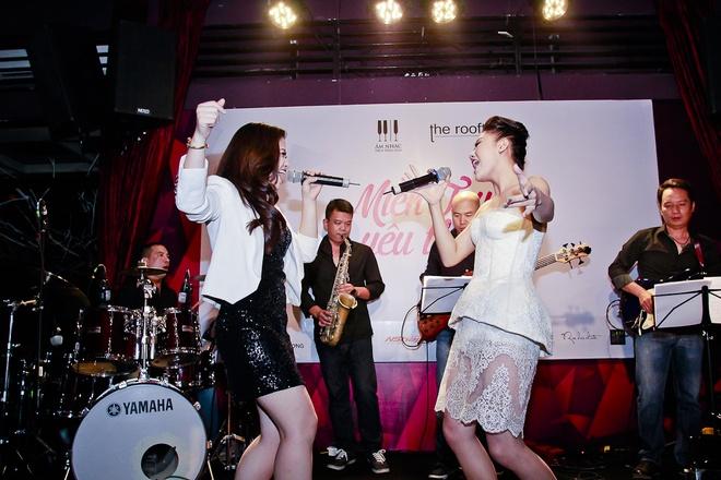 Van Mai Huong do giong cung hot girl The Voice hinh anh 3