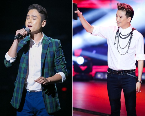 Quoc Trung, Mr Dam thang tay loai 'trai dep' The Voice hinh anh