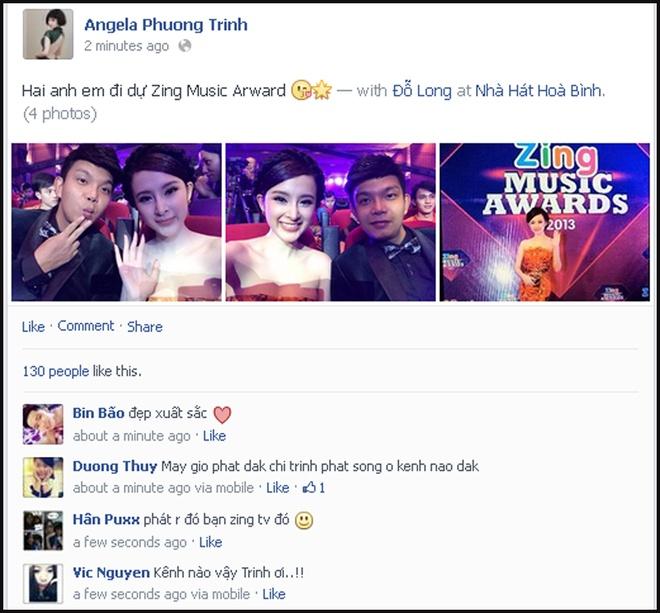 Sao Viet hao hung khoe anh o Zing Music Awards hinh anh 7