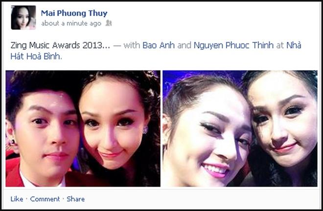 Sao Viet hao hung khoe anh o Zing Music Awards hinh anh 4