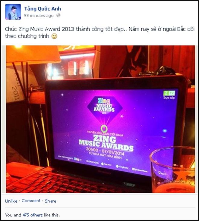 Sao Viet hao hung khoe anh o Zing Music Awards hinh anh 14