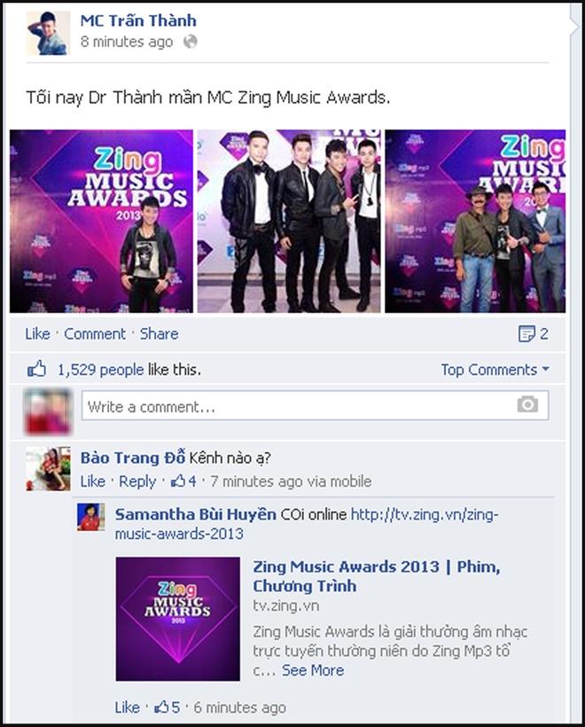 Sao Viet hao hung khoe anh o Zing Music Awards hinh anh 1