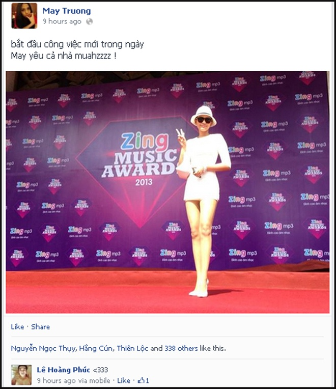 Sao Viet hao hung khoe anh o Zing Music Awards hinh anh 11