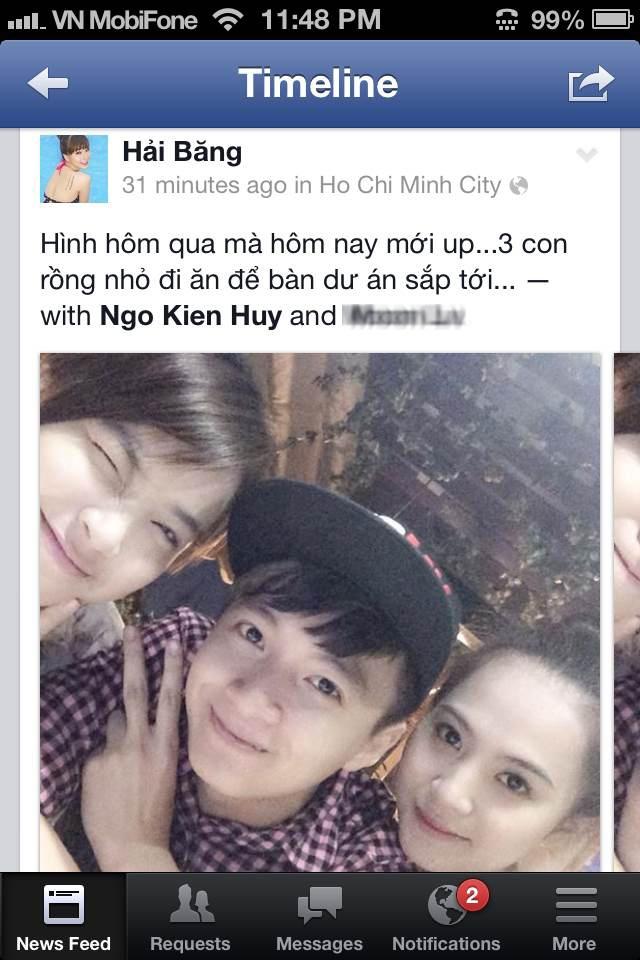 Ngo Kien Huy dinh nghi an hen ho ban gai moi hinh anh 6